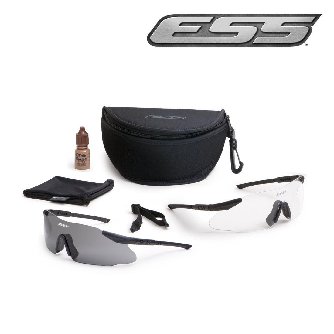ICE 2X kit. Kit 2 lunettes ICE™ verres clair et fumé ESS 6df66f055763