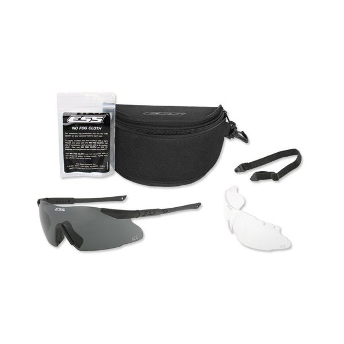 ICE 2LS. Kit lunette ICE™ 2LS verre clair et fumé ESS d5dc7868eec8