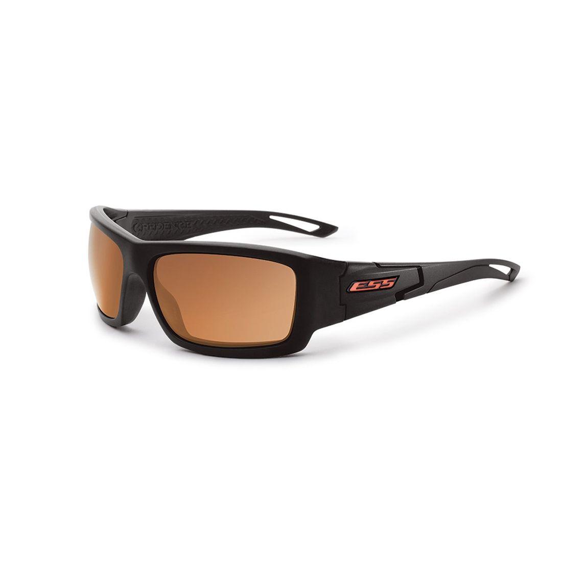 4b3d4f38e544f Lunette Credence™ noire verres cuivres ESS