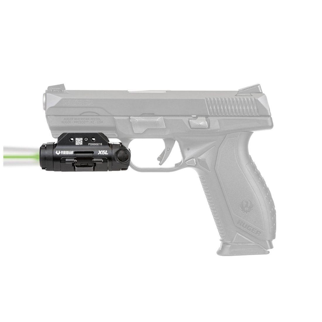 Lampe Laser Vert X5l Universel Viridian Weapon Technologies