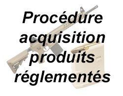 Produits réglementés